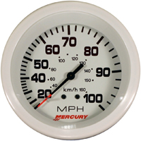 20 - 100 Speedo, White, 3 3/8 inch complete with hose 25 Feet.