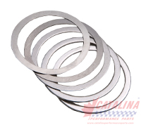 Five Assorted Stainless Steel Shims. (used with Shouldered Wear Rings.)