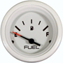 Fuel level, White, 2 1/8 inch.