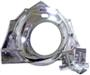 Chev 181 - 502 Borg Warner,<b><u>Polished</b></u>  Aluminum Bottom Starter Mount, Bell Housing complete with MTG. Brackets.