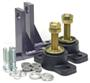 Borg Warner, Velvet Drive, Adjustable Mount Kit (also Fits #133060-4). Pair.