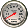 100 mph GPS speedometer <br><br> (120 mph model shown).
